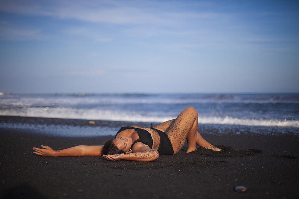 Margo on Bali
